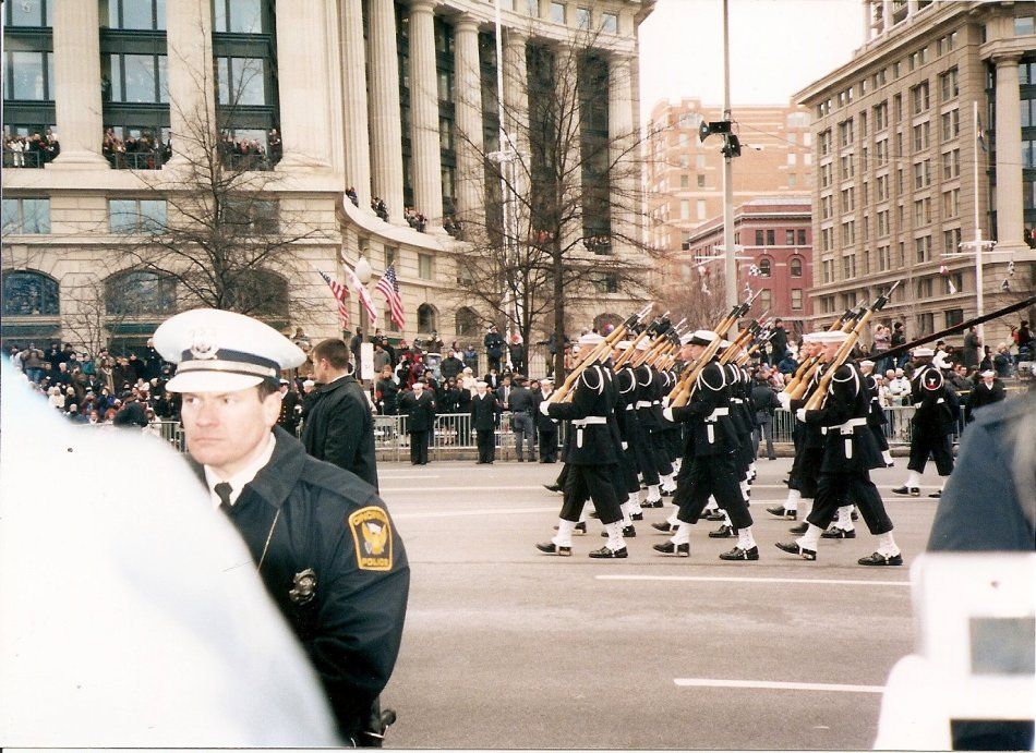 BUSH'S SECOND INAUGERATION DAY PARADE